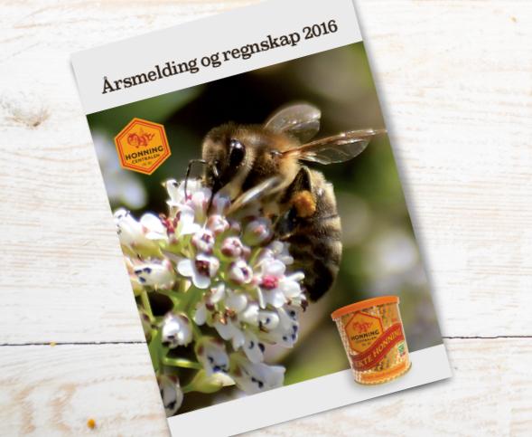 Årsmelding for Honningcentralen 2016