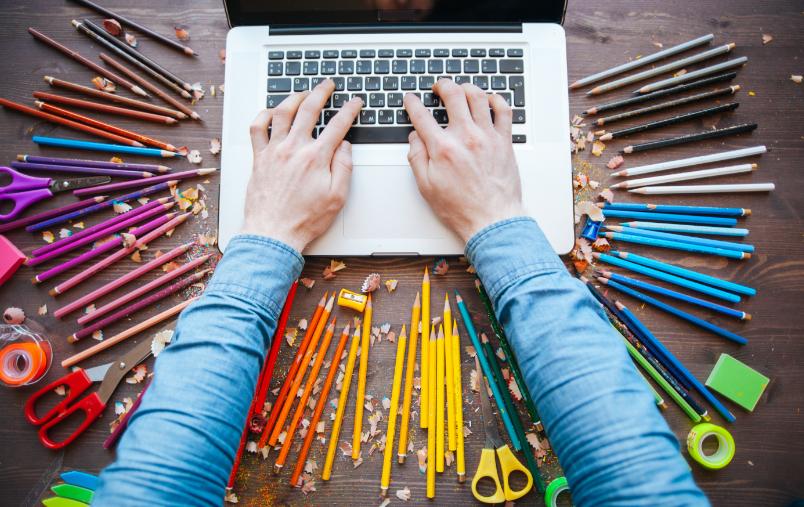Kreative Typer på jobb